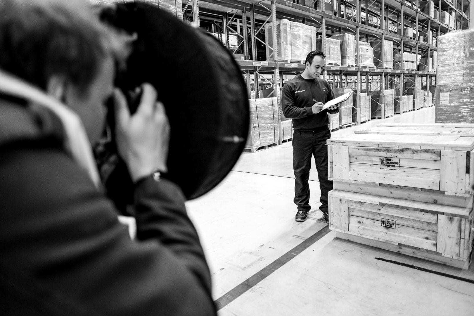 Businessfotograf Backstage