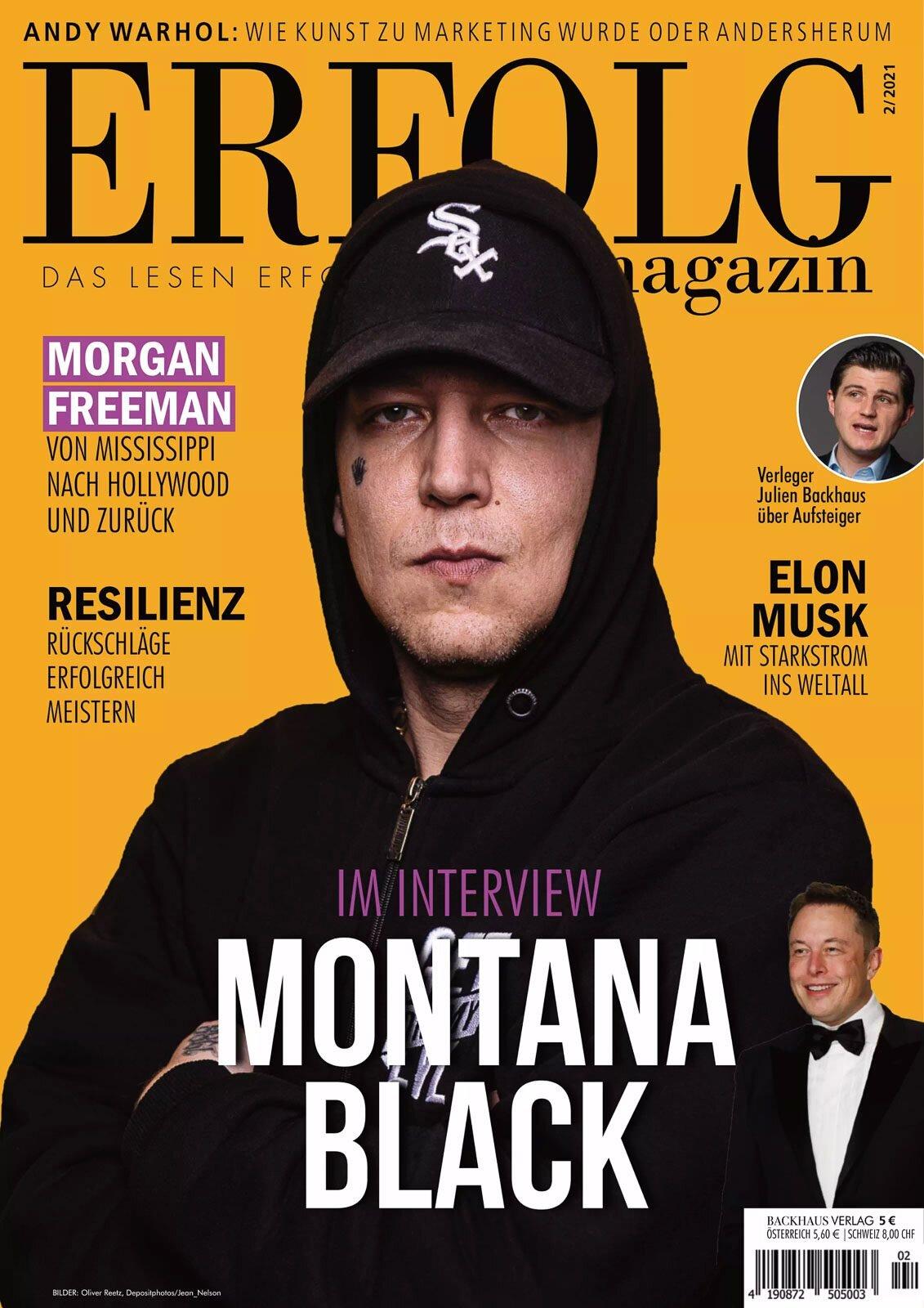 Cover Montana Black - Erfolg Magazin (5)