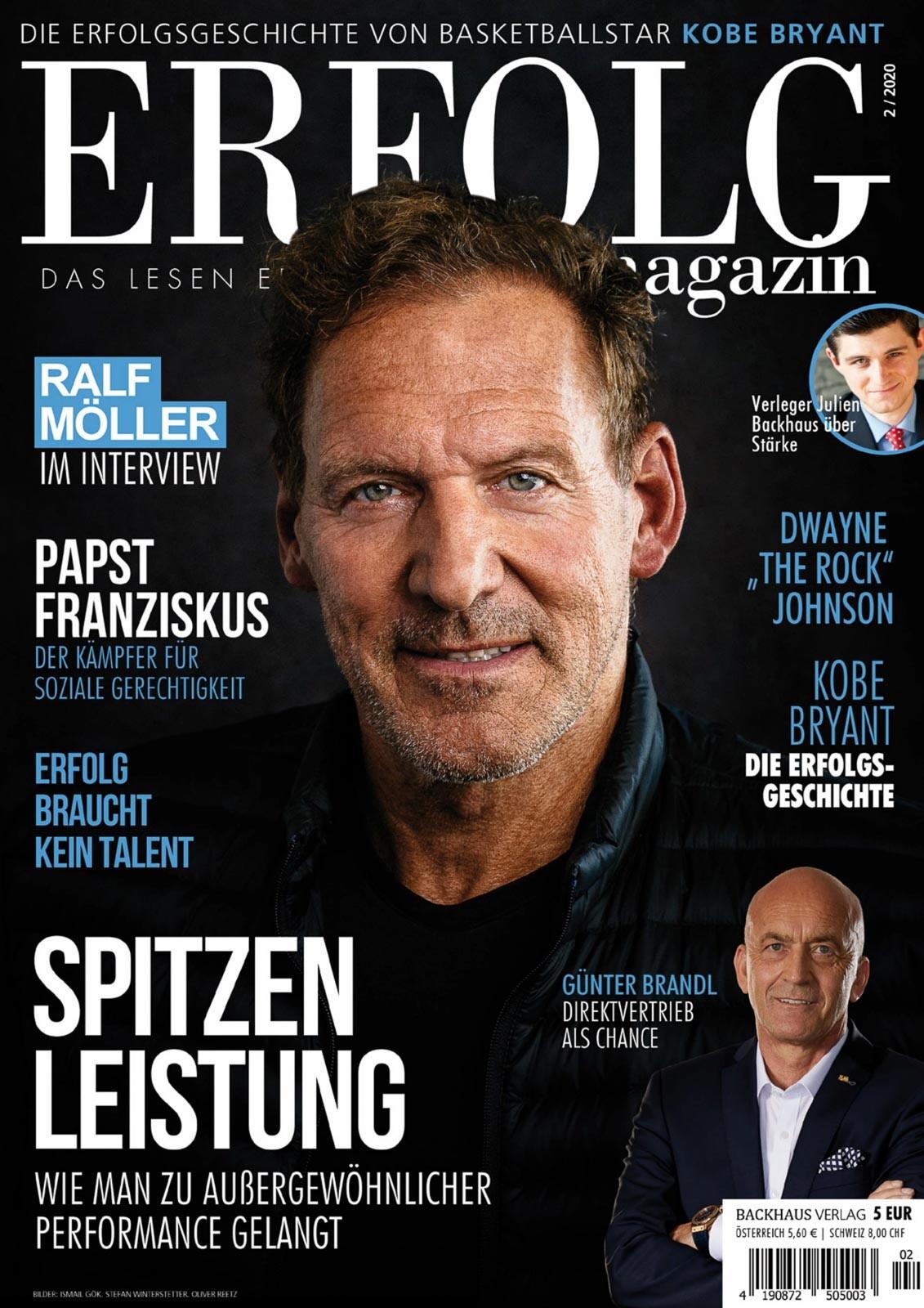 Cover Ralf Möller - Erfolg Magazin (4)